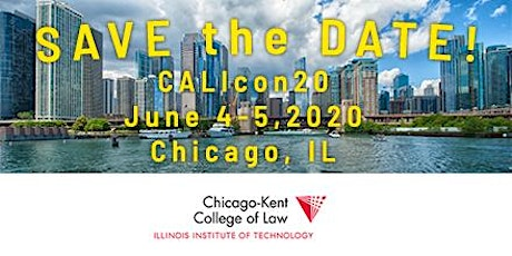 CALIcon20 Conference tickets