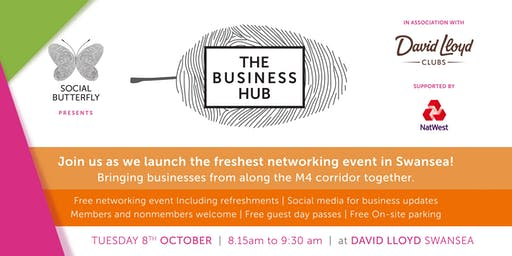 The Business Hub Launch - FREE Networking at David lloyds
