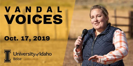 Vandal Voices: Up in Flames: Wildfire and Idaho Rangeland tickets