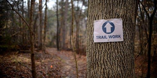 Trail Work - Reedy Fork