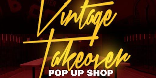 Vintage Takeover Pop-Up Shop