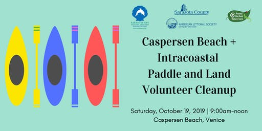 Caspersen Beach and Intercoastal Cleanup