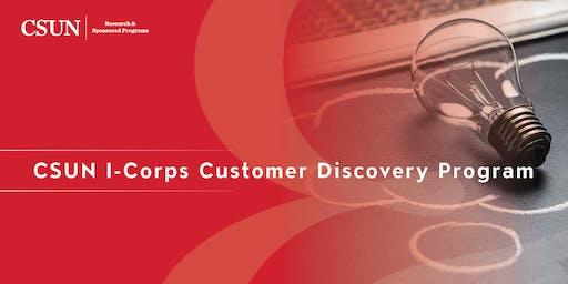 I-Corps ZAP Session 1 - Fall 2019 Cohort