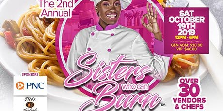 Sisters Who Can Burn : A Culinary & Beverage Tasting Experience tickets