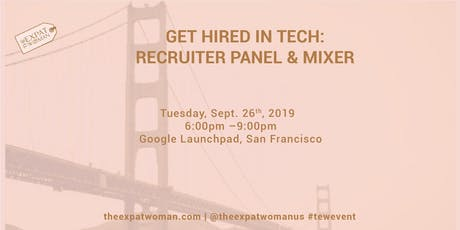 Get Hired in Tech: Recruiter Panel and Mixer tickets