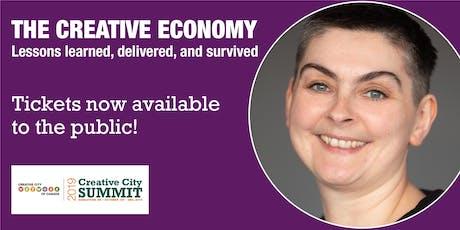 2019 Creative City Summit Keynote Speaker: Rachael Brown tickets