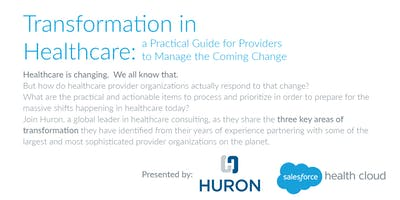 Transformation in Healthcare