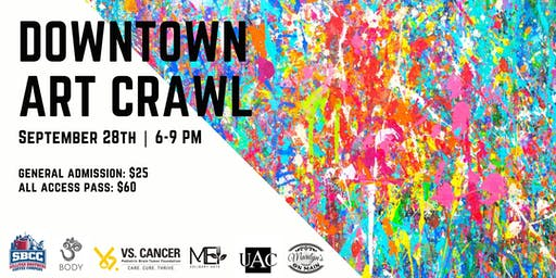 Downtown Art Crawl: SBCC x OMBody x UAC x Marilyn's on Main