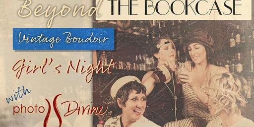 Beyond the Bookcase Vintage Boudoir