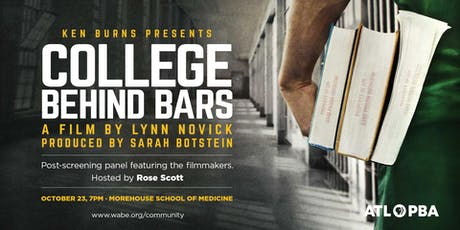 College Behind Bars Film Screening and Panel tickets