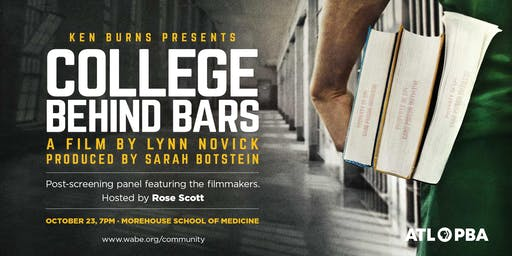 College Behind Bars Film Screening and Panel