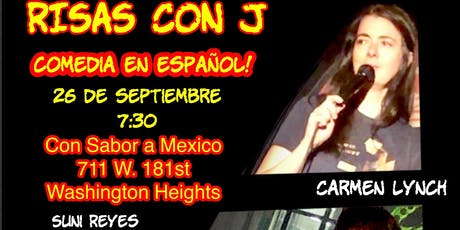 Risas Con J: el 26 de septiembre tickets