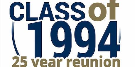 West Springfield High School Class of 1994 - 25th Reunion tickets