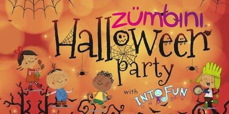 Zumbini Halloween Party - Fri, Oct 18 ($20/child) tickets