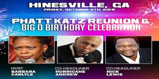 HINESVILLE, GA- Phatt Katz Comedy Reunion