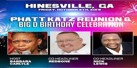 HINESVILLE, GA- Phatt Katz Reunion with Redbone tickets