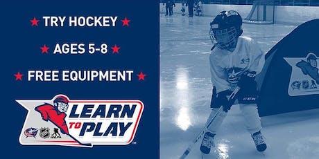 Blue Jackets Learn to Play Hockey tickets
