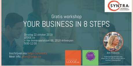 Workshop: Your business in 8 steps tickets