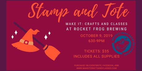 Stamp and Tote at Rocket Frog tickets
