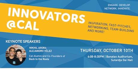 2019 Innovators@Cal: Fostering Innovation Across UC Berkeley tickets