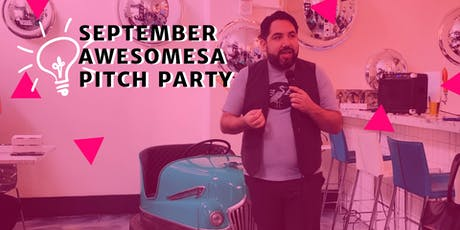 September AwesomeSA Pitch Party tickets