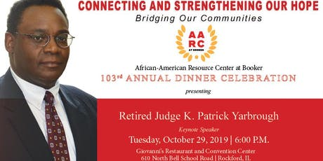 AFRICAN-AMERICAN RESOURCE CENTER AT BOOKER ANNUAL DINNER tickets