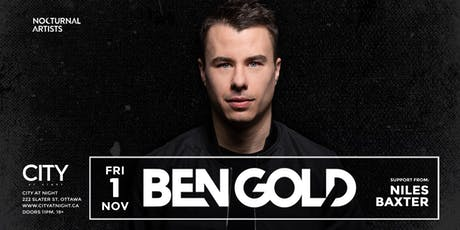 Ben Gold at City At Night tickets