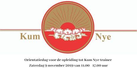 Oriëntatiedag voor de Opleiding tot Kum Nye Tibetaanse yoga trainer tickets