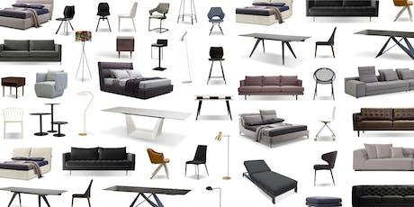 Warehouse Sale | Wholesale Designer Furniture tickets