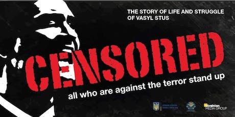 """Censored movie premiere/ Прем'єра фільму """"Заборонений"""" tickets"""