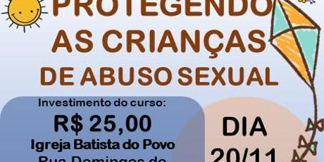 Curso: Protegendo as crianças de abuso sexual ingressos