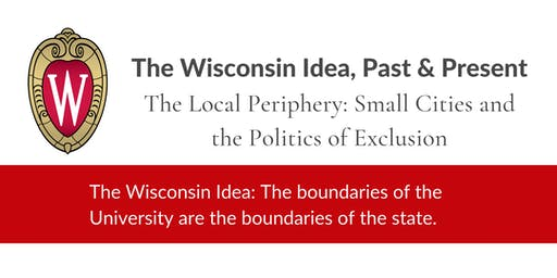 Wisconsin Idea Lecture: Benny Witkovsky