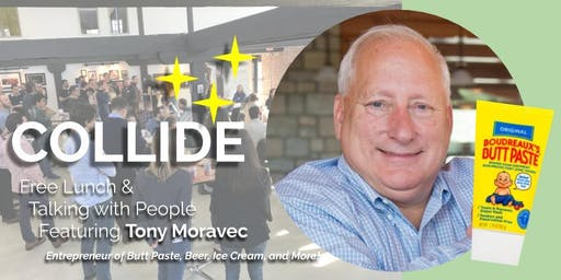 COLLIDE @ The Mill // Free Lunch & Talking with People: Tony Moravec