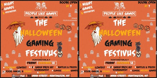People Like Games present: THE HALLOWEEN GAMING FESTIVUS