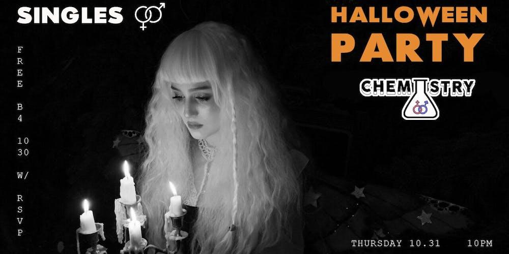 Singles Halloween Party: Chemistry