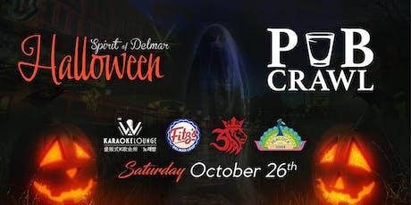 Spirit of Delmar - Halloween Pub Crawl tickets