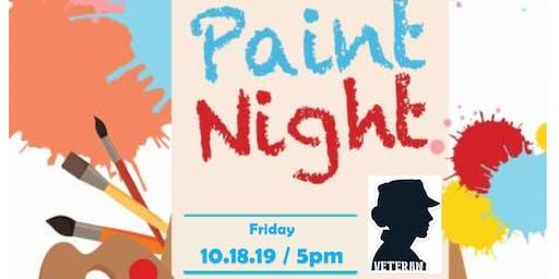Female Veteran Paint Night