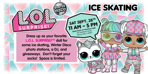 L.O.L. Surprise! Winter Disco Ice Skating Party - Chicago