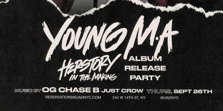 Young M.A. at Up&Down Thursday 9/26 tickets