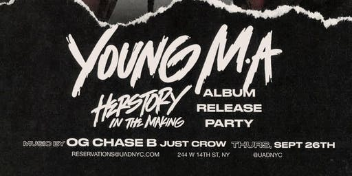 Young M.A. at Up&Down Thursday 9/26