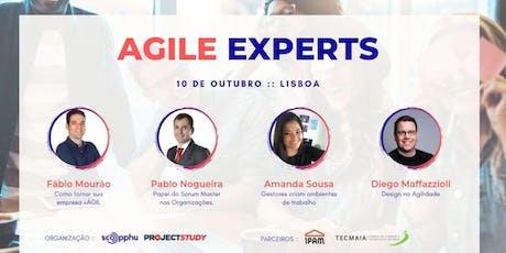 AGILE EXPERTS LISBOA, PORTUGAL bilhetes