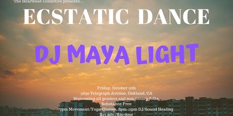 Ecstatic Dance at The Heartbeat Collective with Maya Light tickets