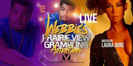 Webbie Live Grambling vs PV After Party at Villa Lounge tickets
