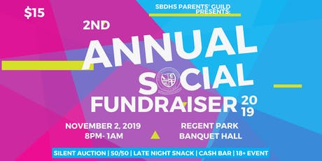 2nd Annual SBDHS Fundraising Social tickets