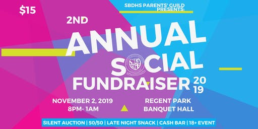 2nd Annual SBDHS Fundraising Social