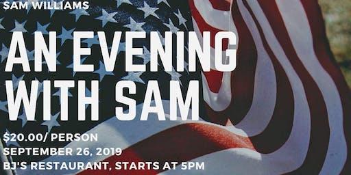 AN EVENING WITH SAM