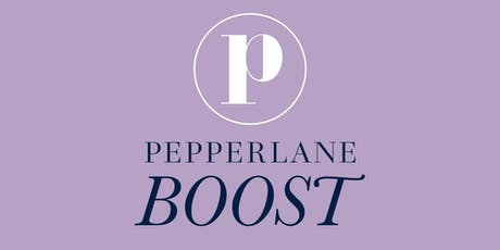 Pepperlane Boost: ONLINE Meeting (Led by Diane Meehan) tickets