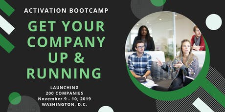 Activation Bootcamp: Get Your Company Up & Running tickets