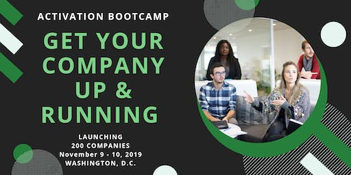 Activation Bootcamp: Get Your Company Up & Running