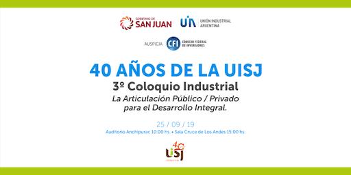 40 años UISJ- El Coloquio tendrá 2 partes, es NECESARIO que quienes vayan a participar de mañana y de tarde se inscriban en ambos momentos.